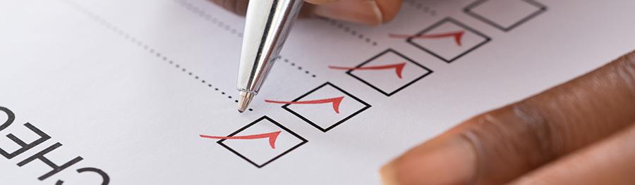 CRM checklist