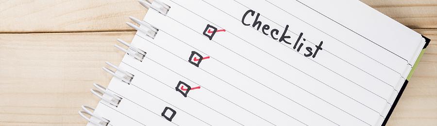 DMS checklist