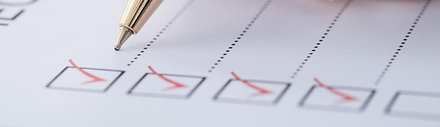 ERP checklist