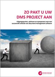 Zo pakt u uw DMS project aan