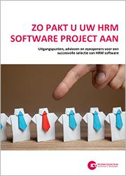 HRM project aanpakken